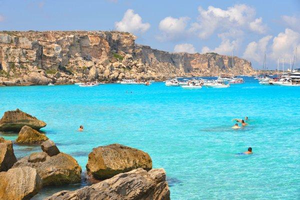 Sicília: Západné pobrežie, Egadské ostrovy, Palermo a škola varenia
