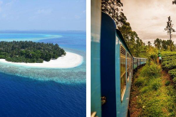 Maledivy a Srí lanka: Skvosty Indického oceánu