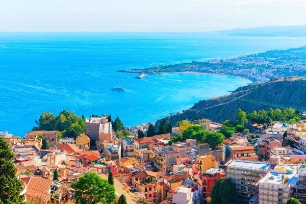 Sicília: Severné pobrežie, Liparské ostrovy a Palermo