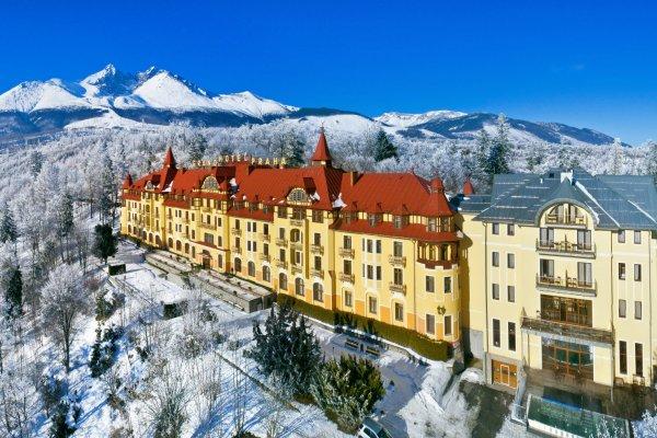 Grandhotel Praha Tatranska Lomnica