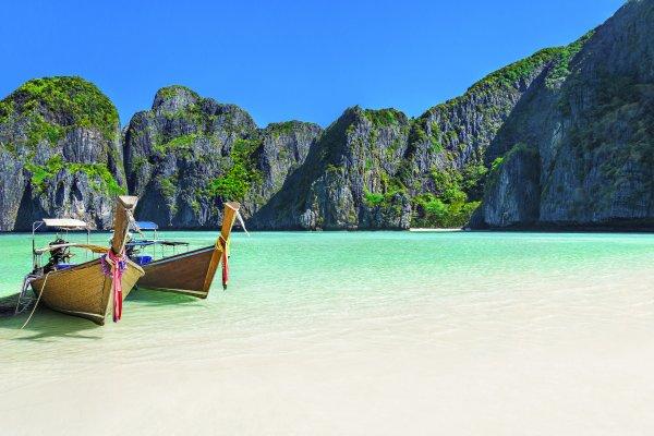 Phuket, Phi Phi a James Bond Island