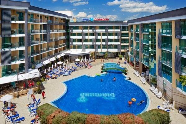 Bulharsko: Diamond Hotel 4*