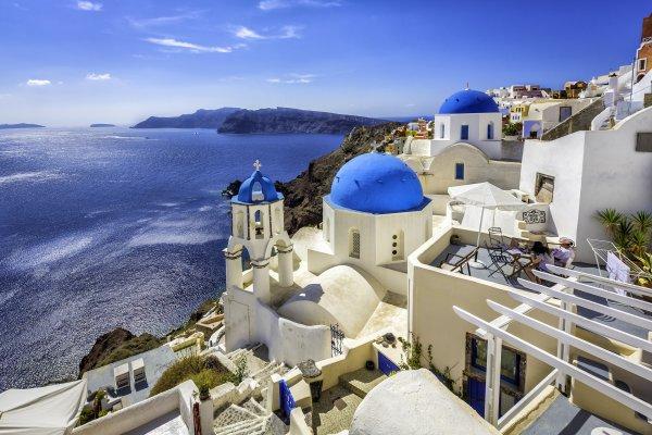 Santorini, klenot Grécka