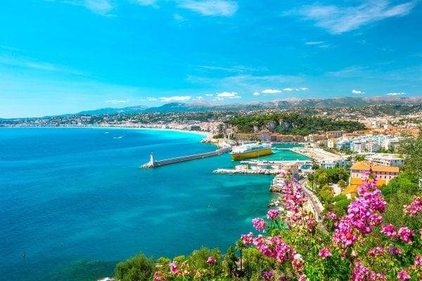 Azúrové pobrežie: Nice, Monako, Antibes a Cannes