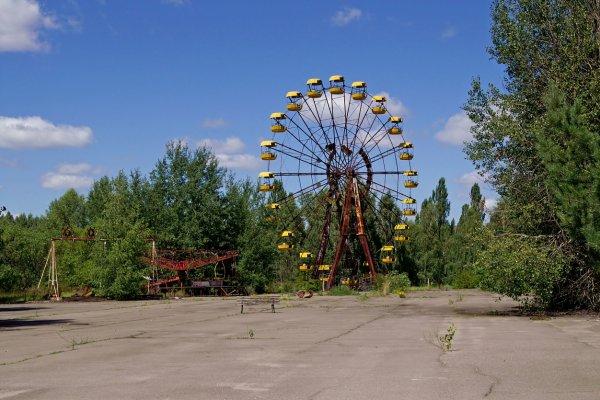Tajuplný Černobyľ a moderný Kyjev