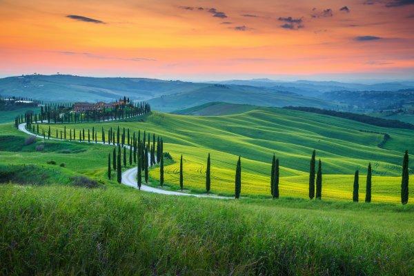 Perly Toskánska: Florencia, Siena a Pisa
