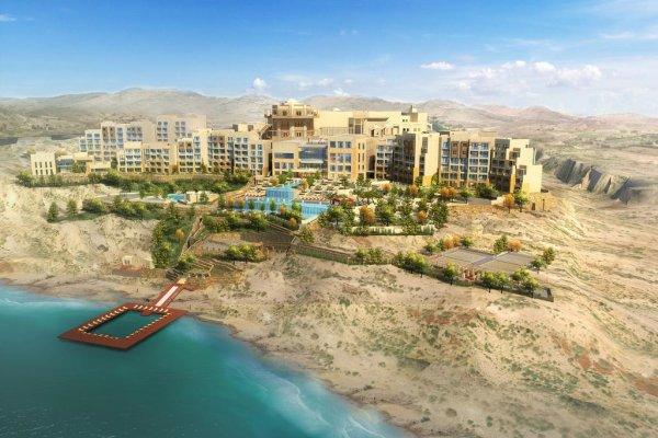 Jordánsko, Mŕtve more: Hilton Dead Sea Resort 5* z Viedne
