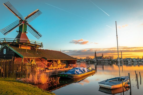 Amsterdam s návštevou skanzenu Zaanse Schans