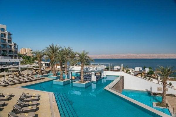 Jordánsko, Mŕtve more: Hilton Dead Sea Resort 5*