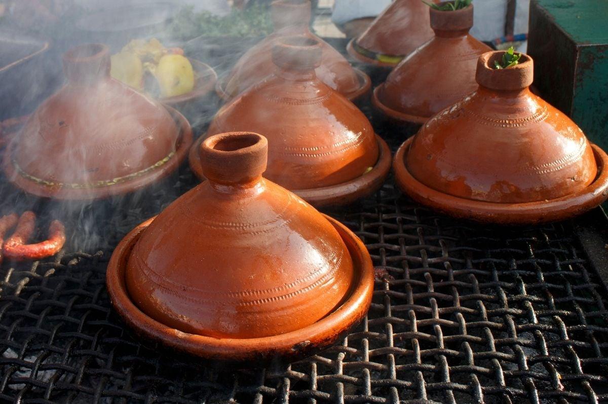 tradičný tadžin v maroku