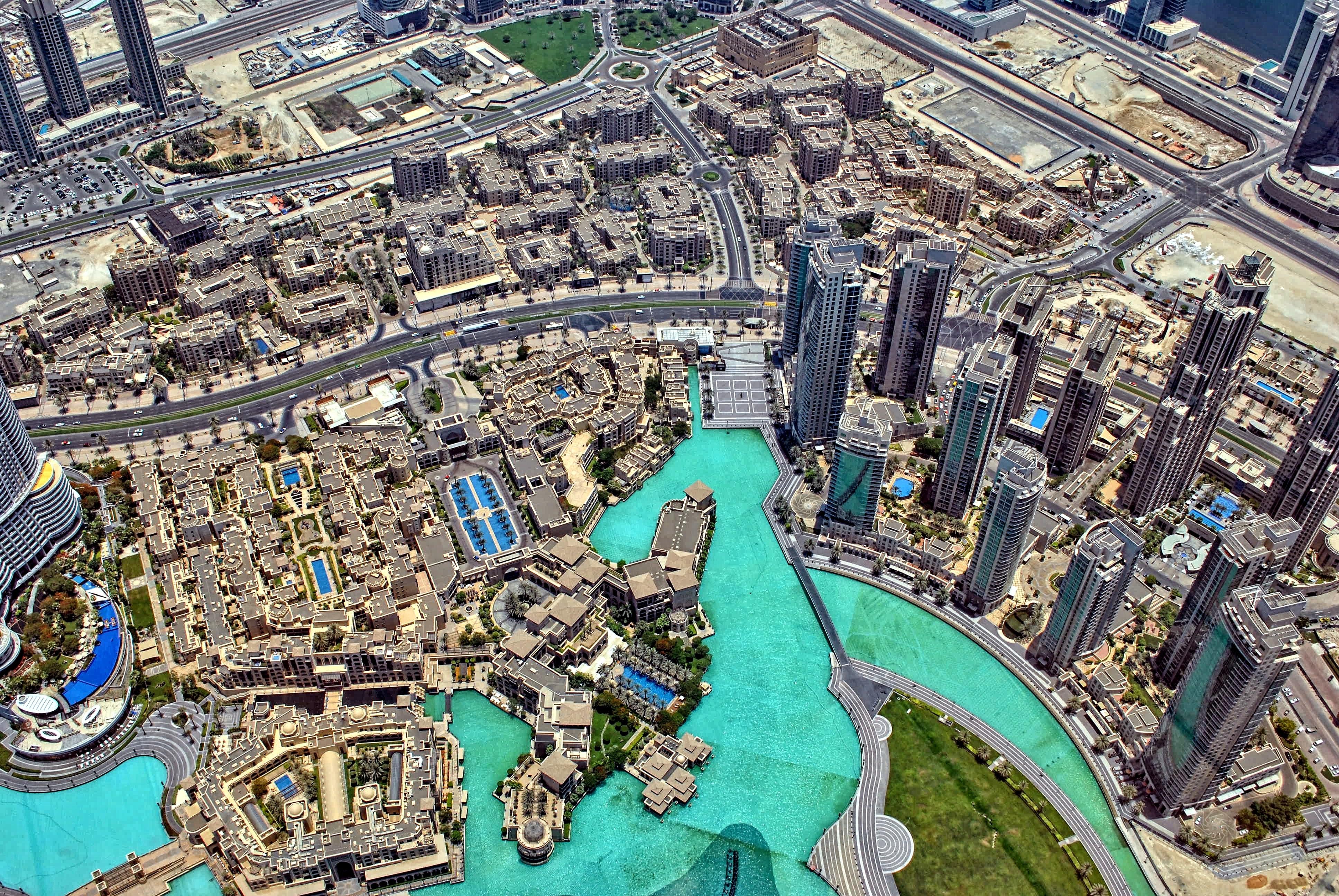 výhľad burj khalifa dubaj