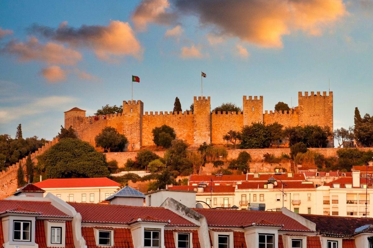 hrad sv. juraja lisabon
