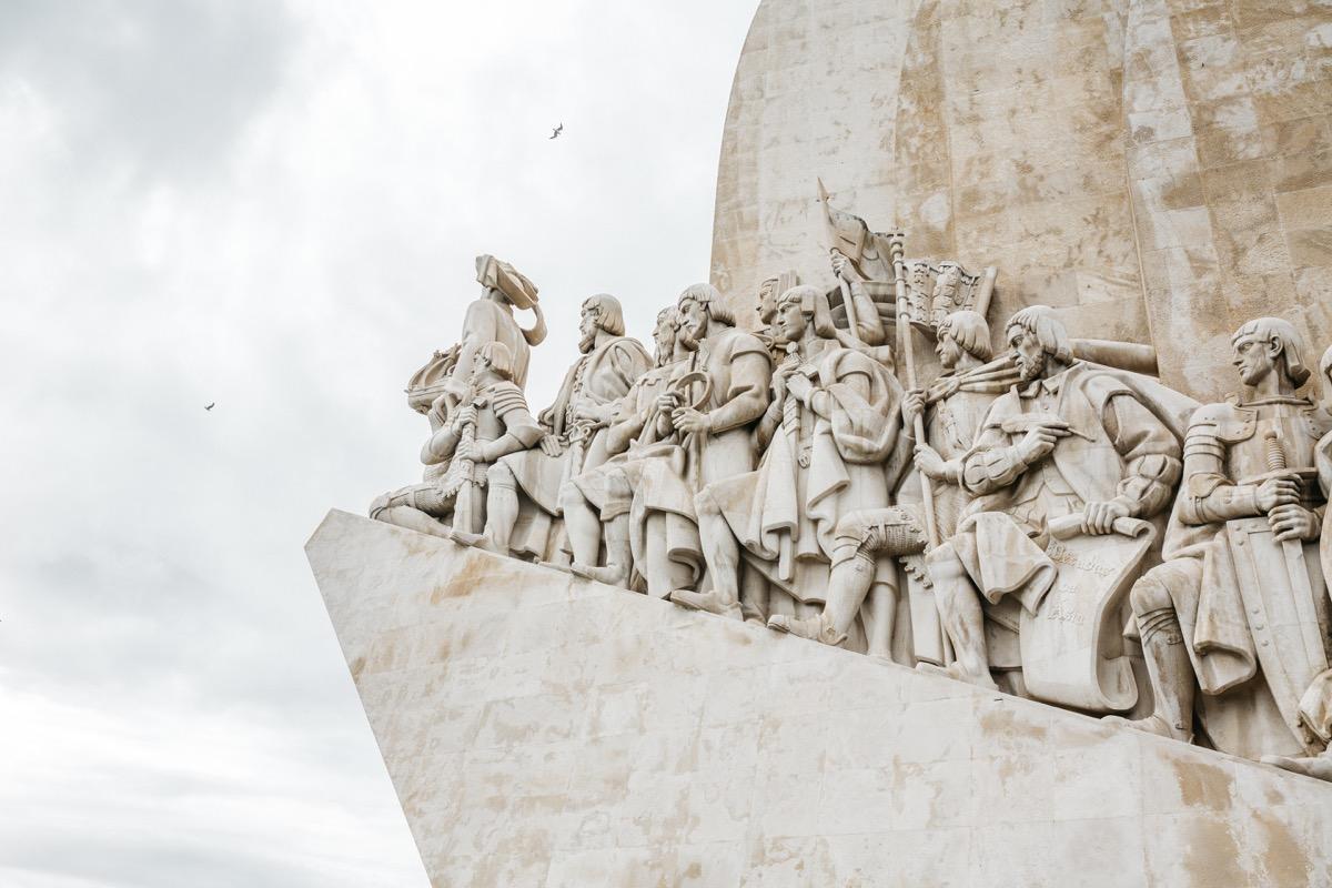 pamätník otcov objaviteľov padrao dos descobrimentos