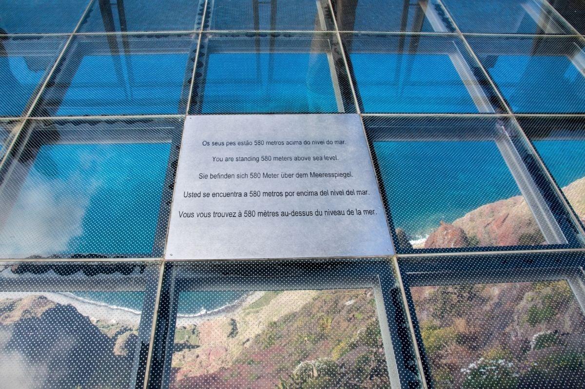 Cabo Girão madeira výhľad