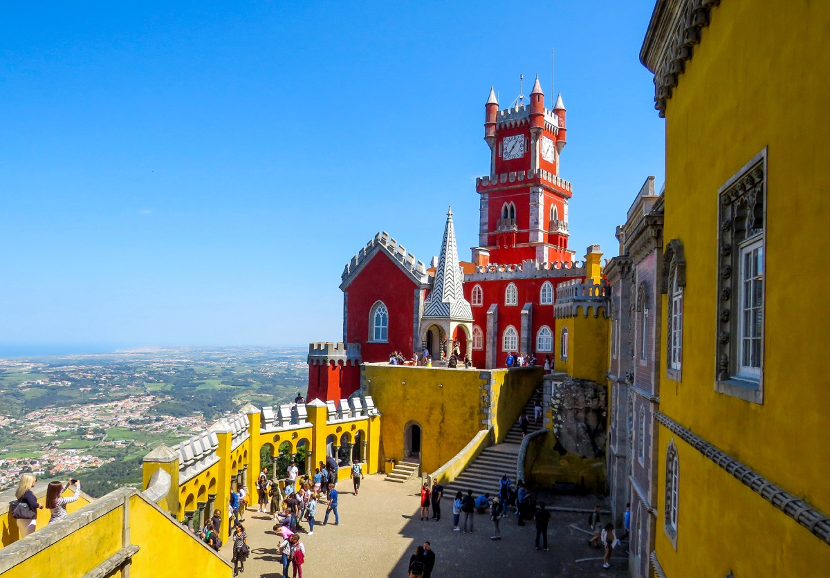 palácio pena sintra Lisabon